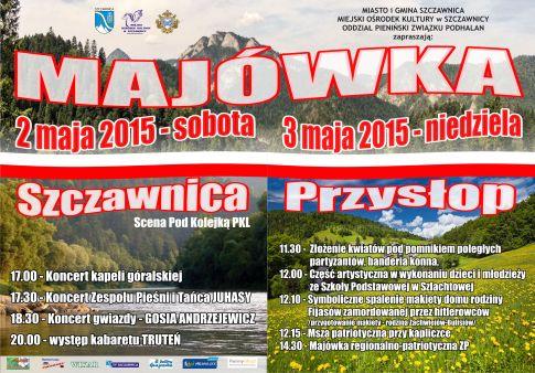 Weekend majowy Szczawnica