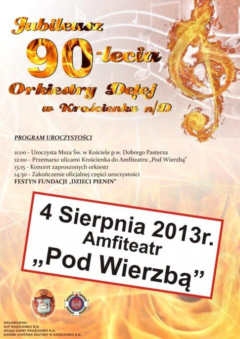 90-lecie orkiestry dętej osp krościenko